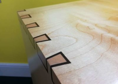 Inlay dovetails