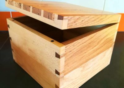 Dovetailed box